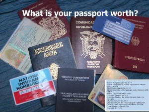 What is your Passport worth? Illegalised Migration and the Paper Market | by Stephan Scheel, 